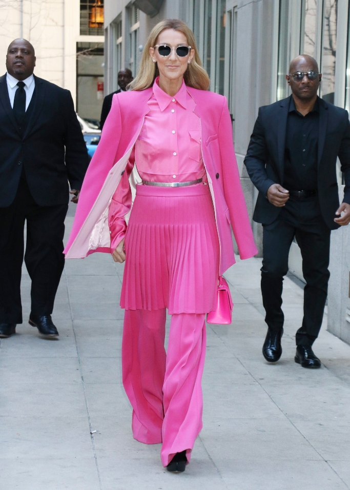 Celine Dion, peter do fall 2020
