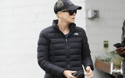 Charlize TheronCharlize Theron out and about,