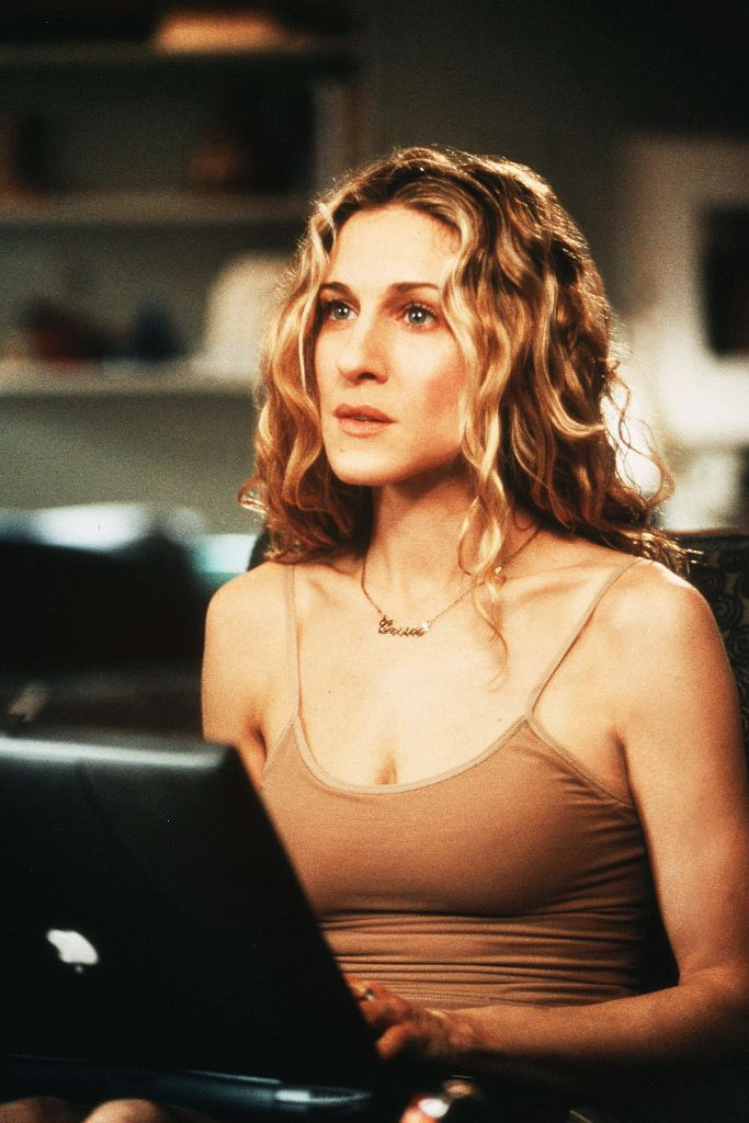 carrie bradshaw, sex and the city, work from home, fashion, coronavirus, self-quarantine