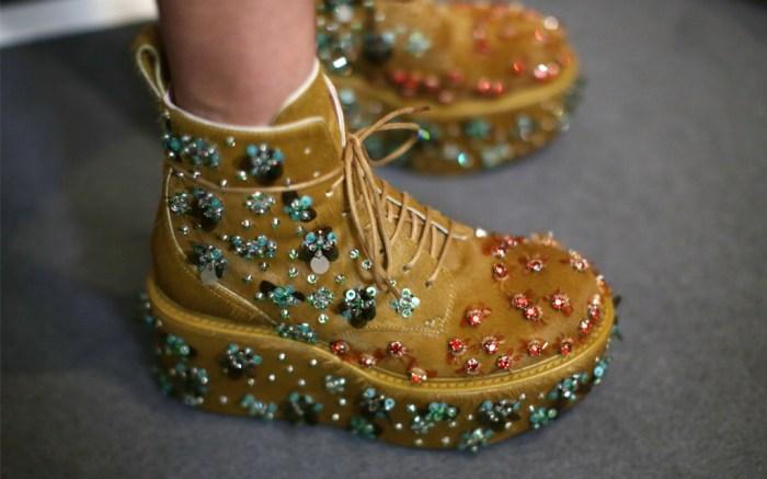 Rochas, pfw, aw20, craziest shoes at paris fashion week