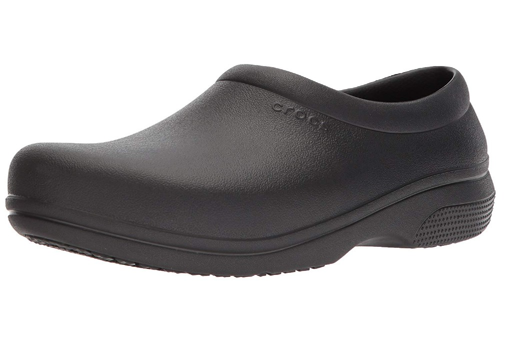Crocs On-The-Clock Work Slip-On, Men's Slip-Resistant Work Shoes