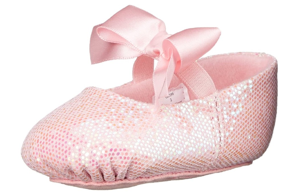 Dance Class Sparkle Baby Ballet Flat