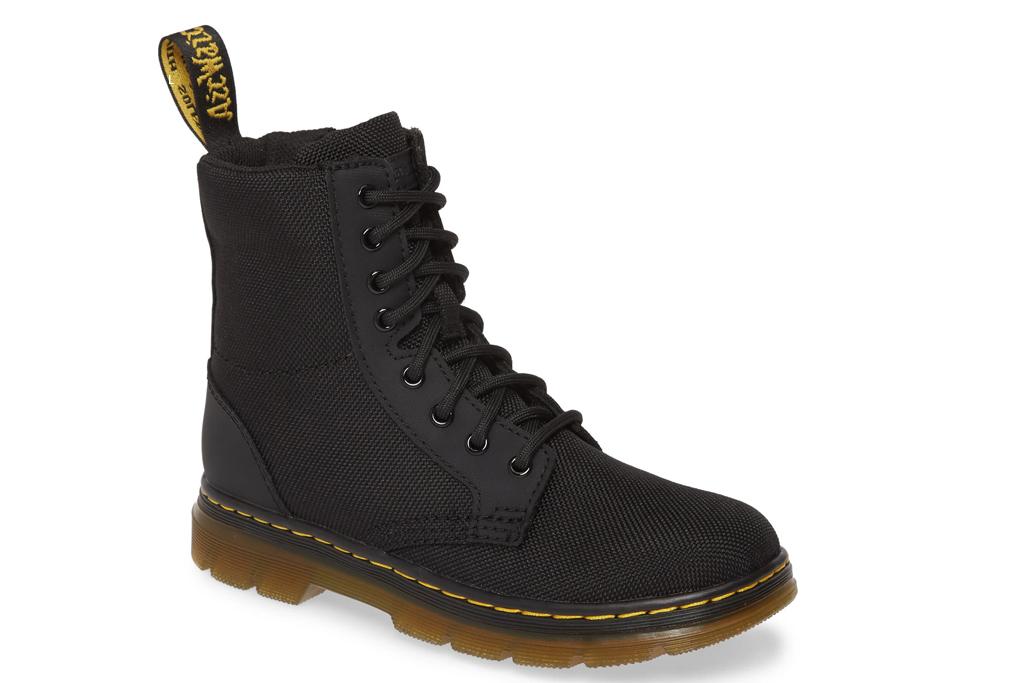 dr martens, kids boots, black