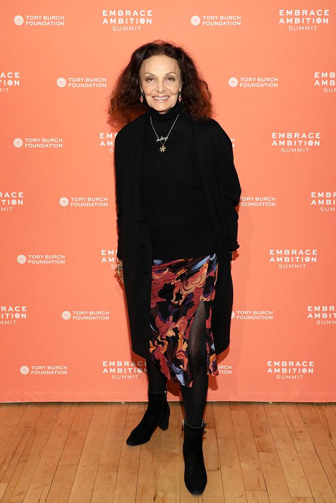 Diane von Furstenberg tory burch summit 2020