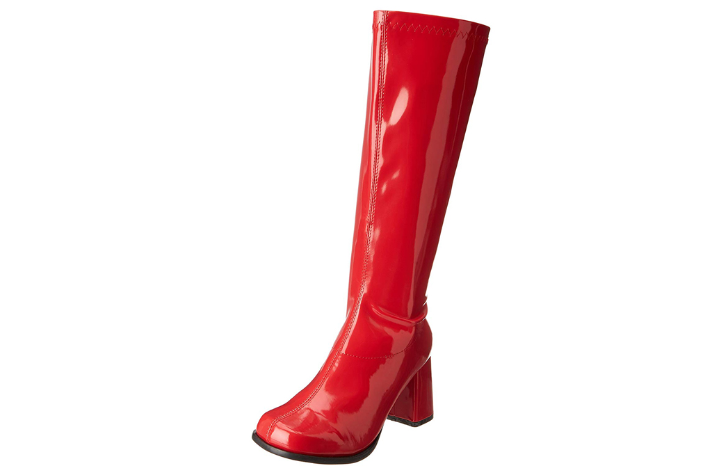 ellie shoes, red boots