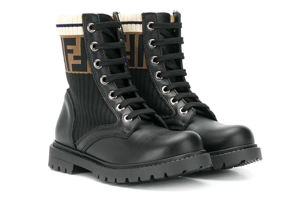 fendi, boots, kids