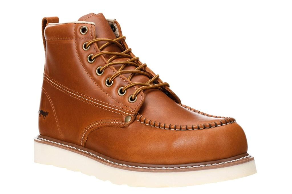 Golden Fox Moc Toe Boot
