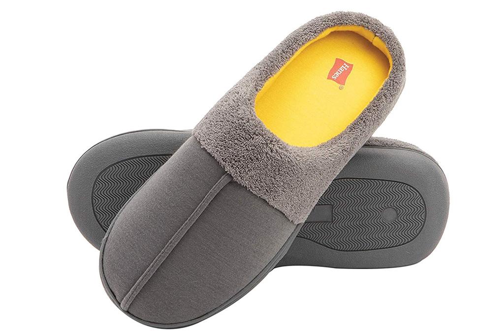 hanes, slippers