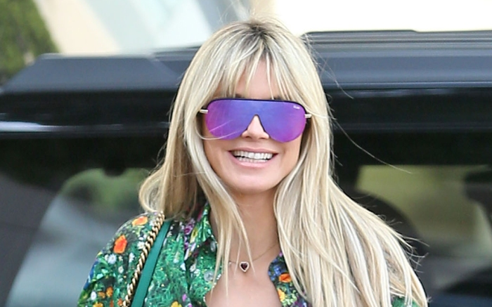 heidi-klum-sunglasses-green