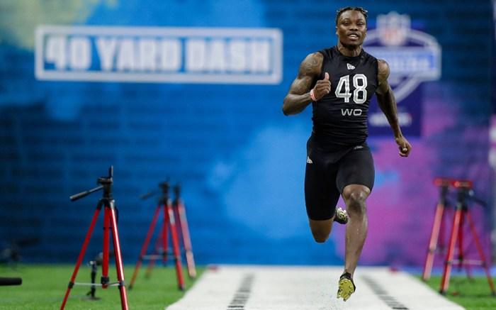 Henry Ruggs III 2020 NFL Draft Combine