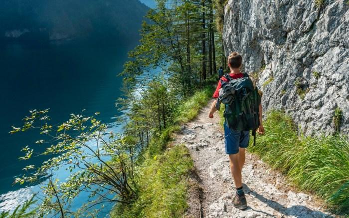 hike, hiking, man, shoes