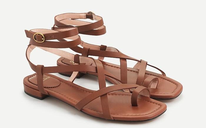jcrew, sandals
