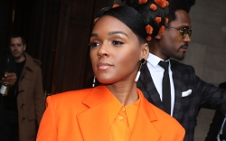 janelle monae, stella mccartney, orange, orange
