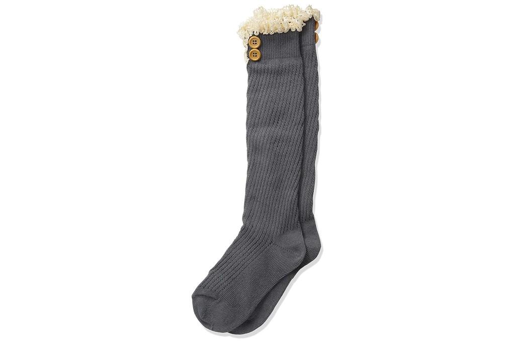 Jefferies Button Boot Socks
