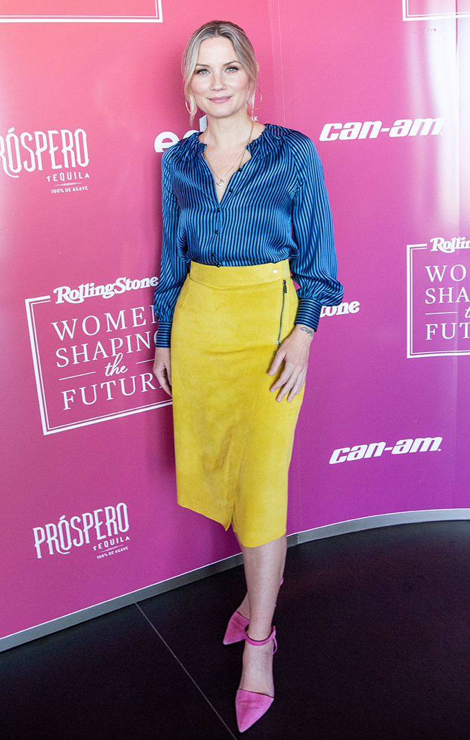 Jennifer Nettles at Rolling Stone's Women Shaping the Future event, the first event at EDGE and Peak in Hudson Yards, sponsored by CAN-AM, Splat Hair Dye, and Prospero TequilaRolling Stone's 'Women Shaping the Future' event, EDGE and Peak, New York, USA - 04 Mar 2020