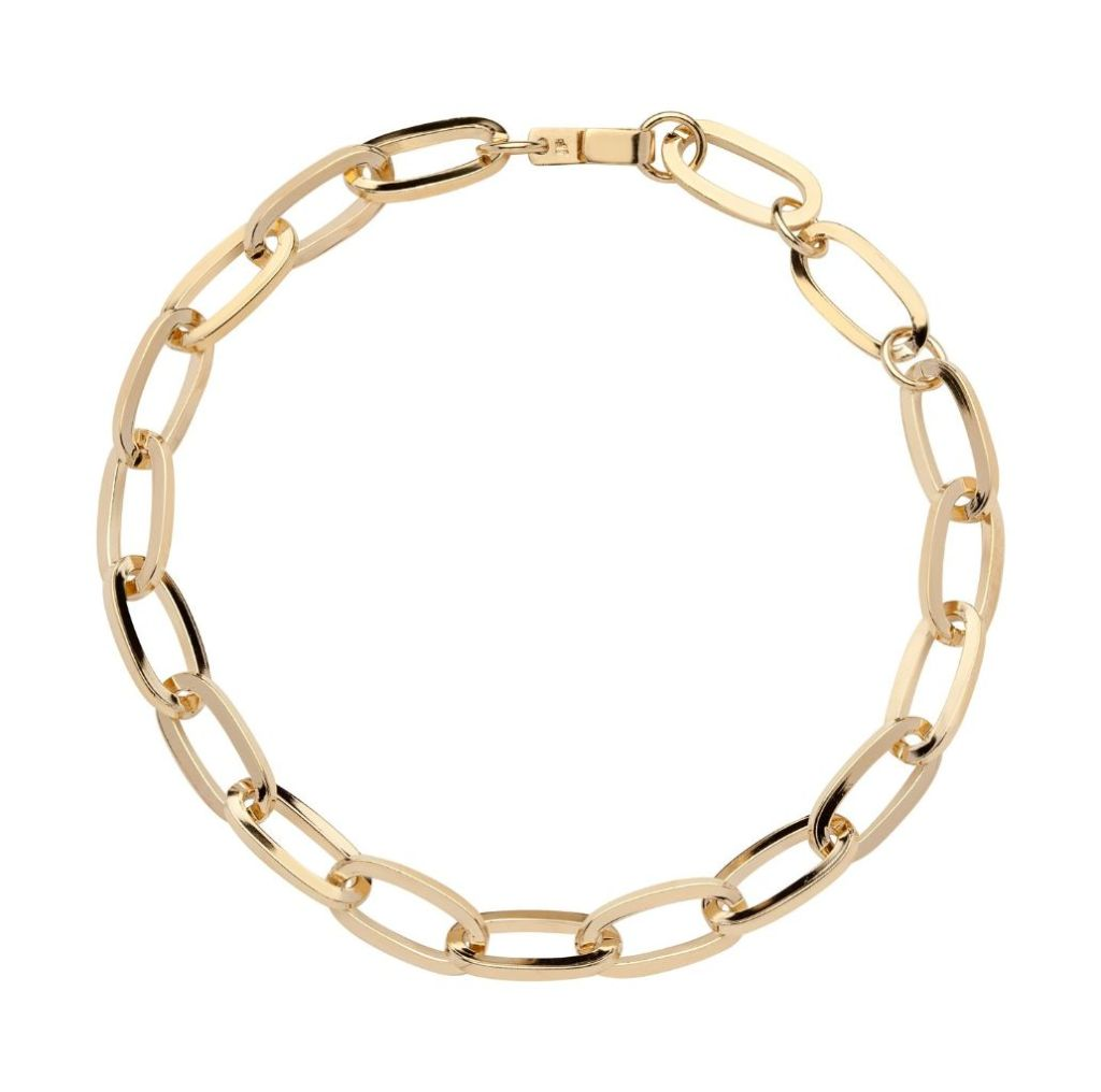 jennifer fisher, chain link necklace, work from home, fashion