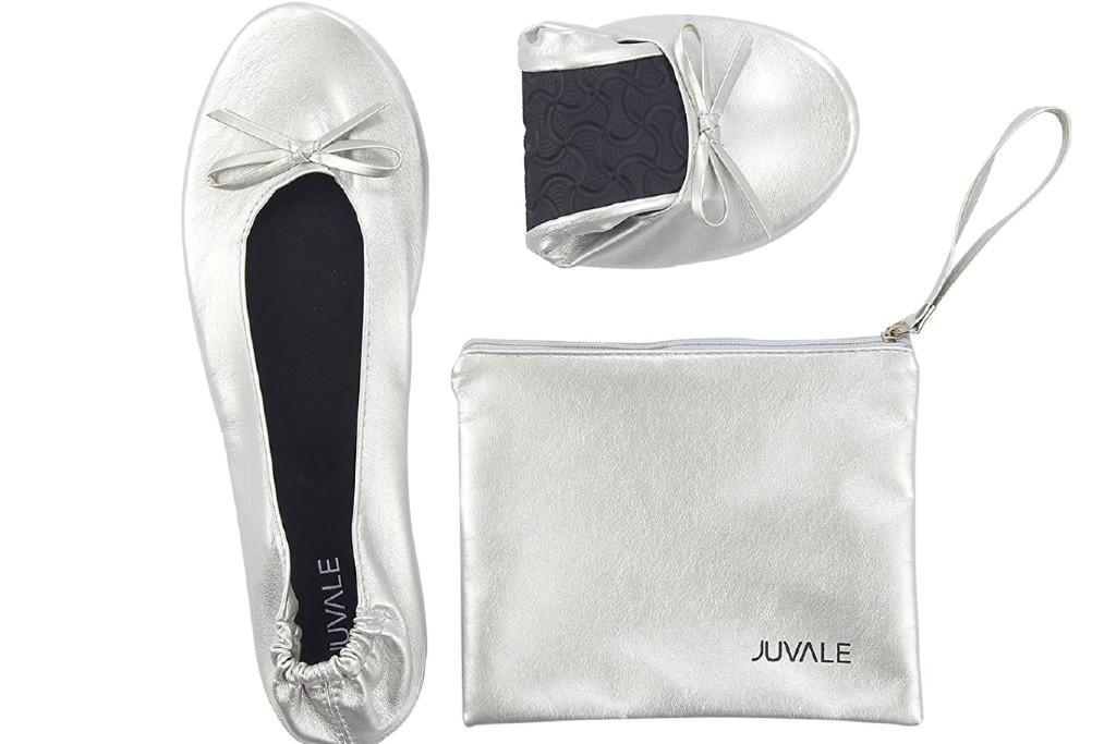Juvale Foldable Ballet Flats