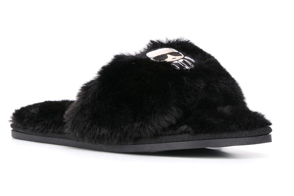 karl lagerfeld, slippers