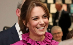 Kate Middleton, oscar de la renta