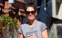 katie holmes, new york, gray, common