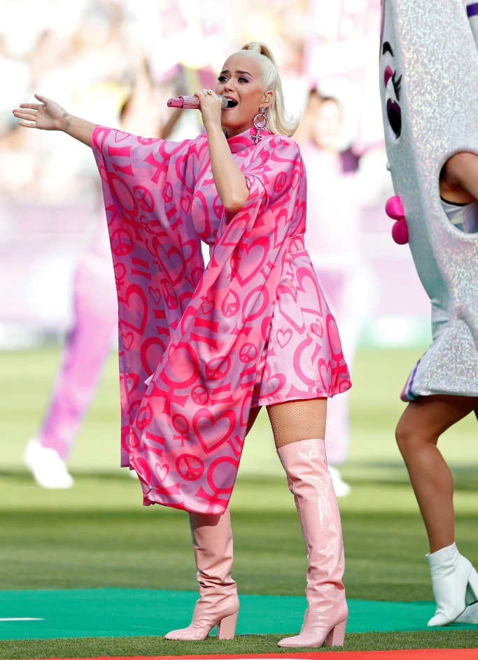 katy perry, Women's T20 World Cup