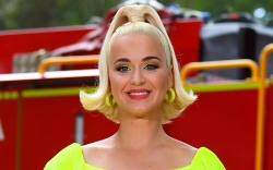katy perry, neon yellow, australia, concert,