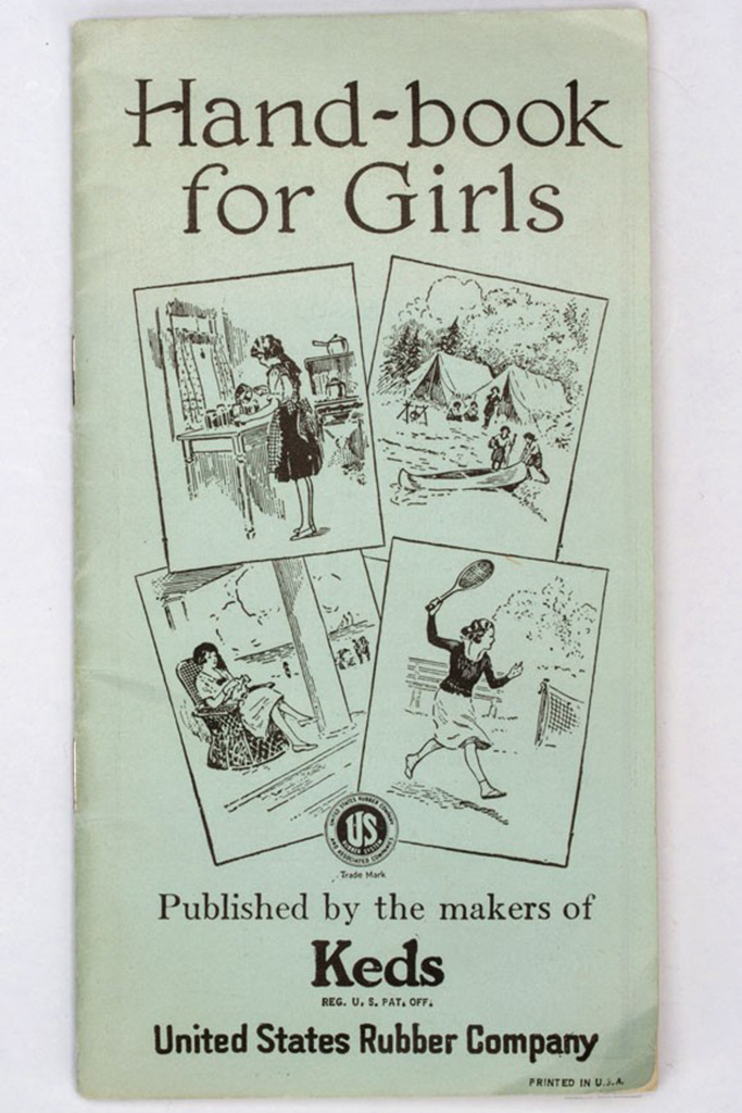 1920s fashion trends, Keds Hand-book for Girls Cover 1920s