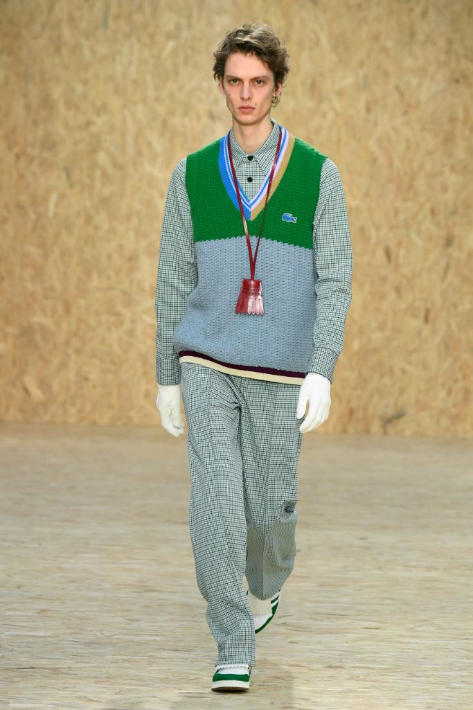 Lacoste fall '20, Paris Fashion Week.