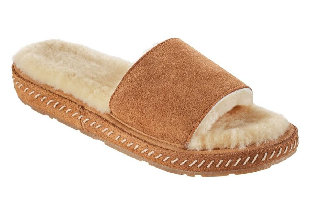 ll bean, wicked good slipper, shearling slipper, work from home, style