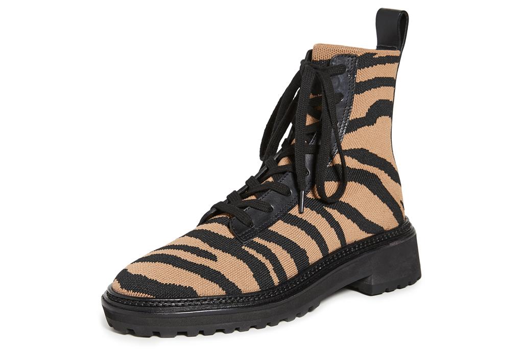 Loeffler Randall, Brady, tiger, combat boots