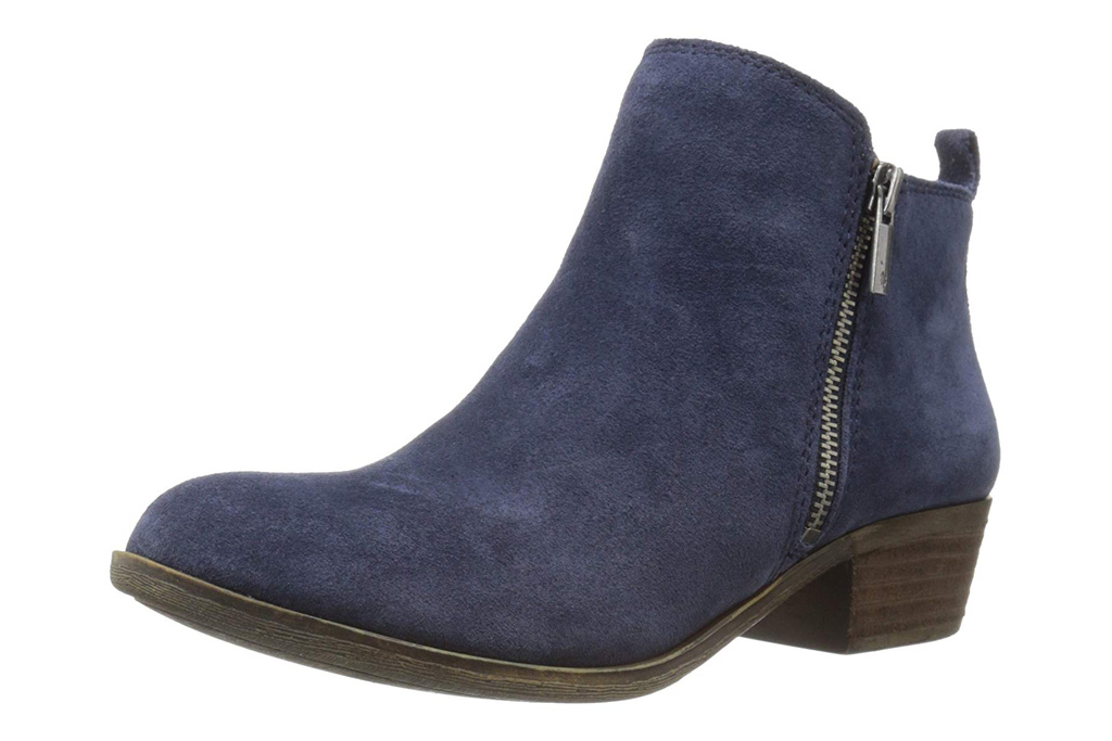 lucky brand, blue boots, booties