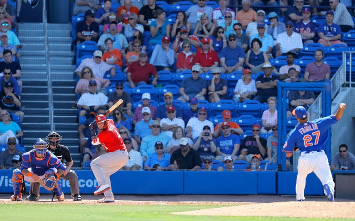MLB spring training New York Mets St. Louis Cardinals
