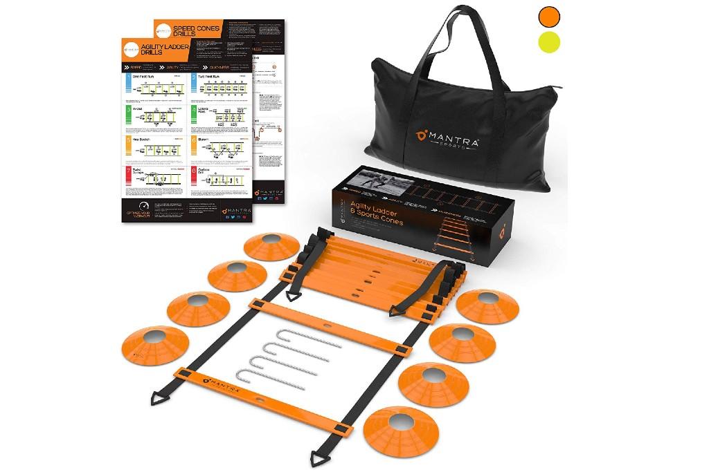Mantra Sports Agility Ladder Training Set