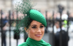 meghan markle, commonwealth day, green, all