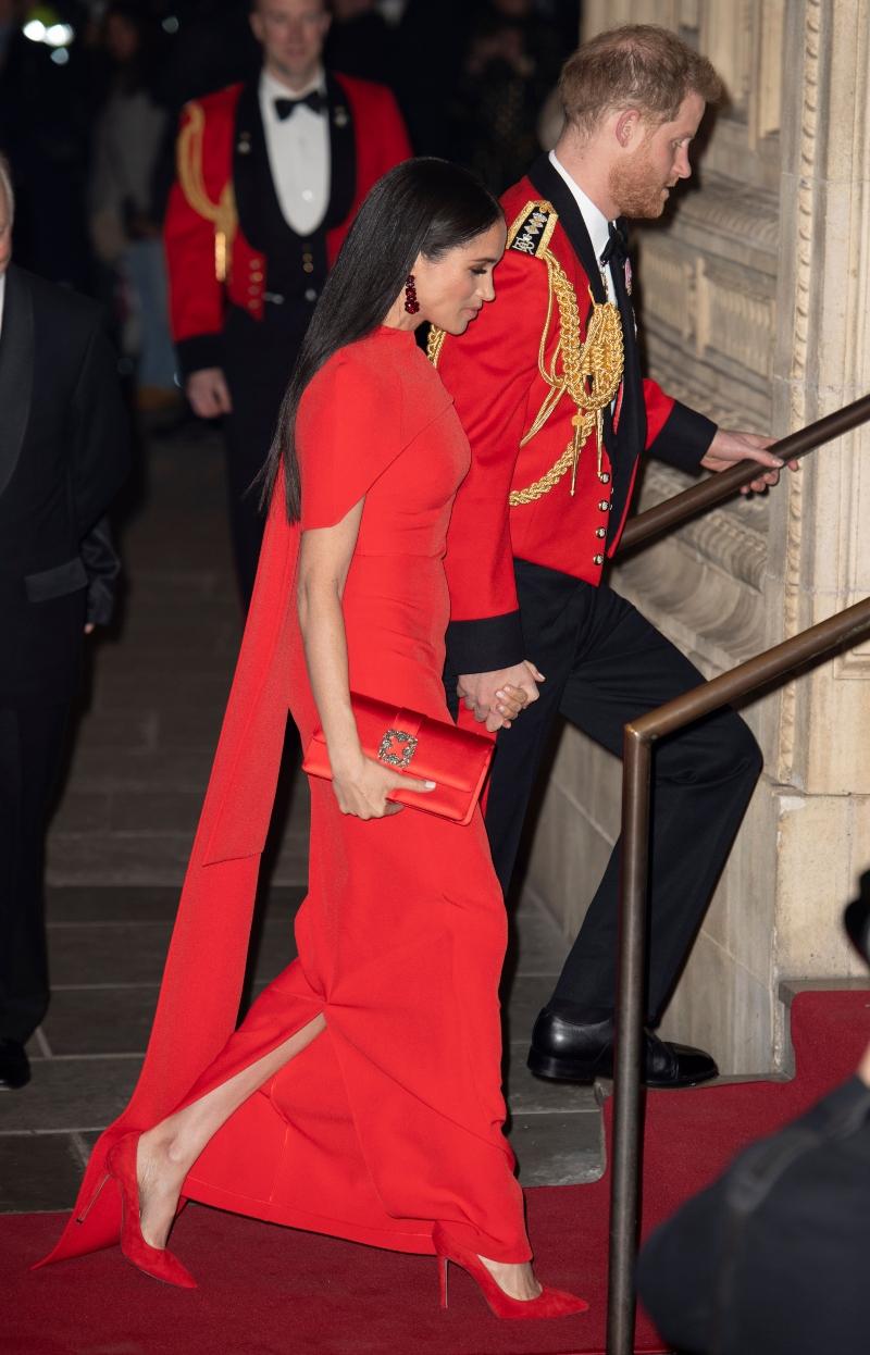 meghan markle, prince harry, red, mountbatten