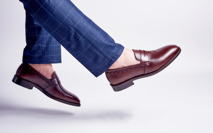 Men's fashion shoes shooting in studio; Shutterstock ID 1491111908; Usage (Print, Web, Both): Web; Issue Date: 2/3