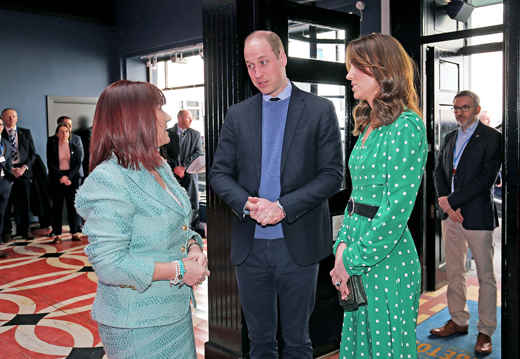 kate middleton, suzannah dress, celebrity style, Prince William and Catherine Duchess of Cambridge at a Galway 2020 European Capital of Culture showcasePrince William and Catherine Duchess of Cambridge visit to Ireland - 05 Mar 2020