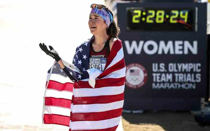 Molly Seidel Saucony Marathon Tokyo Olympics