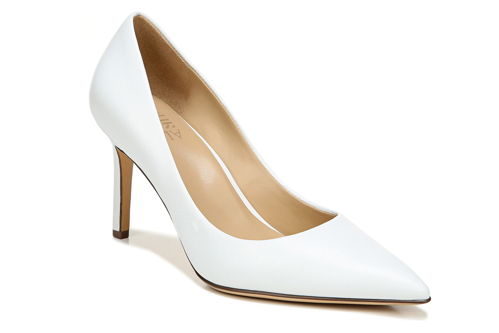 naturalizer, white pumps, white