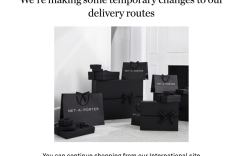 Net-a-Porter US Site suspended