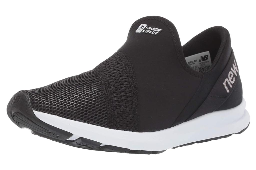 new balance, sneakers, black, white