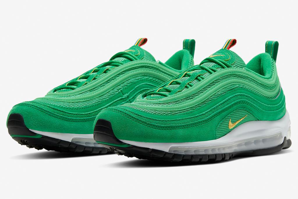 Nike Air Max 97, nike, green