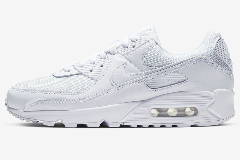 Nike Air Max 90, white sneakers