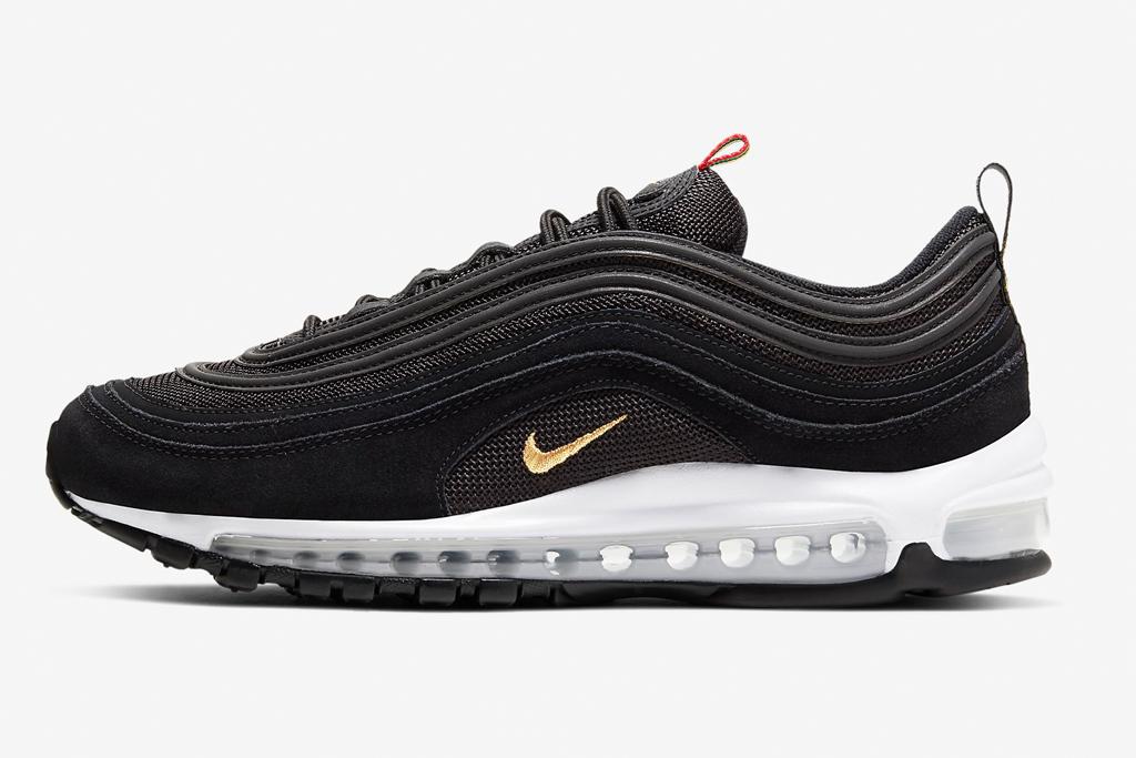 Nike Air Max 97, nike, black