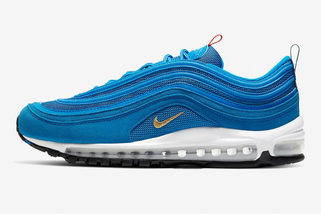 Nike Air Max 97, nike, blue