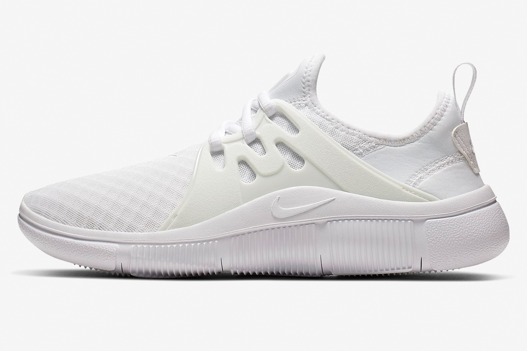nike, running shoes, white
