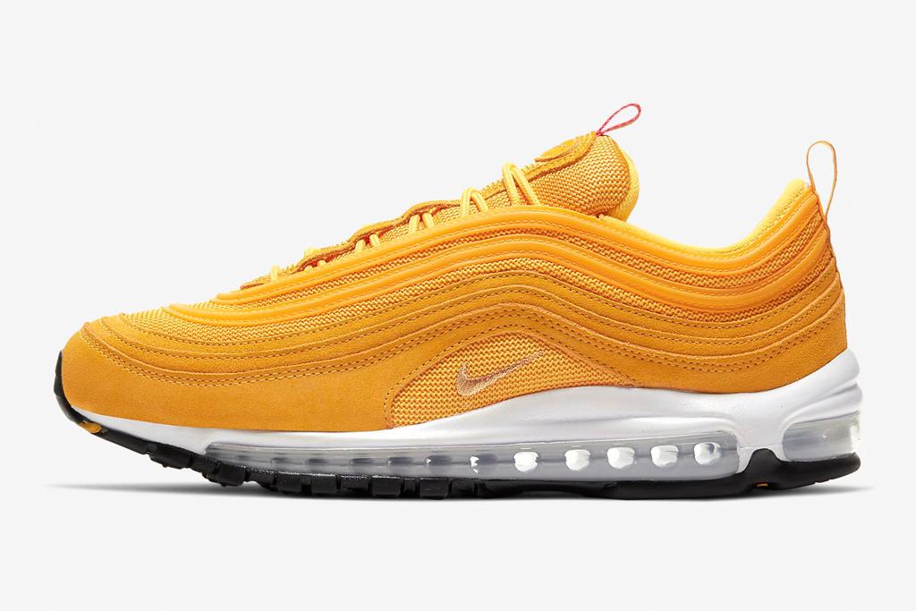 Nike Air Max 97, nike, yellow
