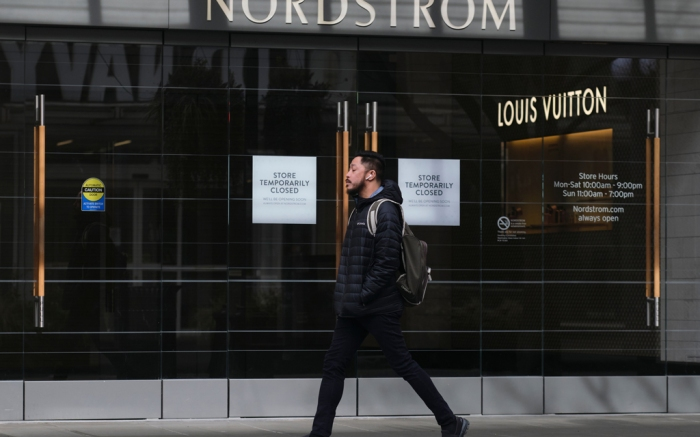 Nordstrom, seattle, coronavirus, closed
