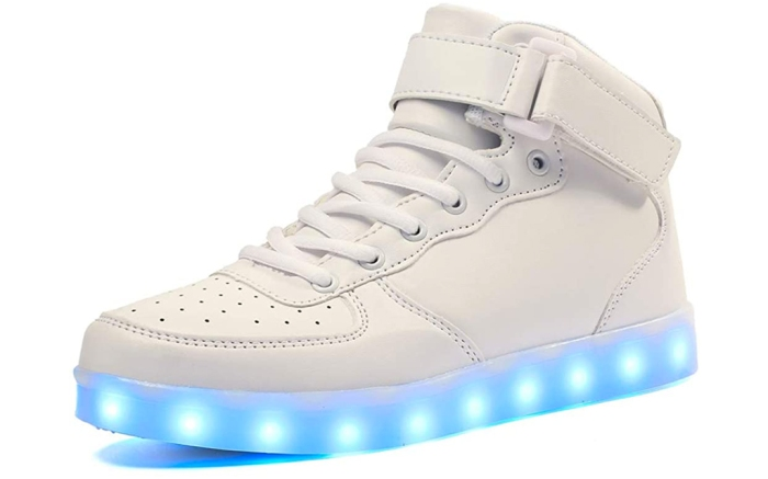voovix, light up sneakers