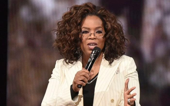 Oprah, 2020 vision tour, falls, la